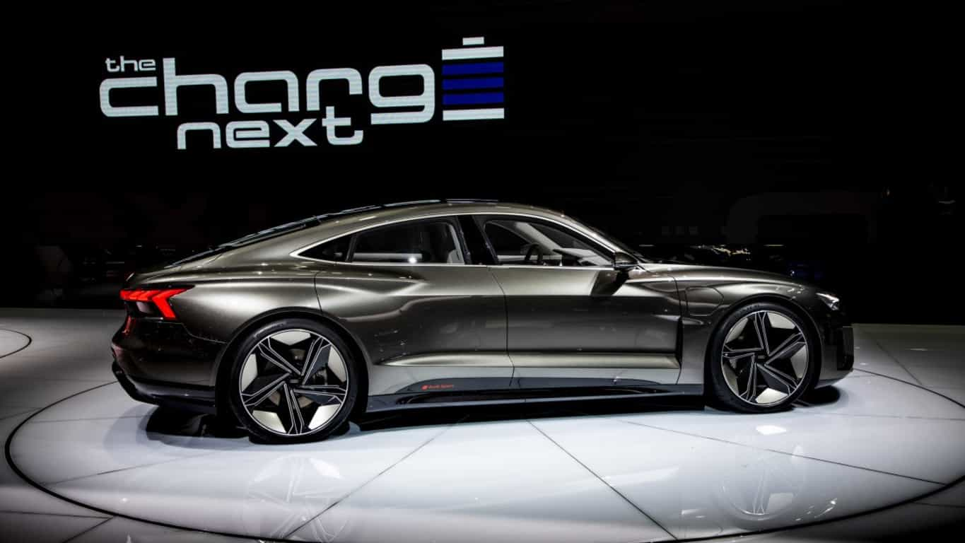 audi e-tron gt is its 2021 electric vehicle for under
